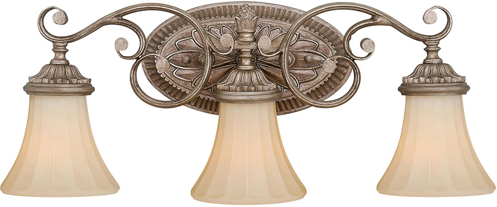 Vaxcel W0156 Avenant Traditional French Bronze 3 Light