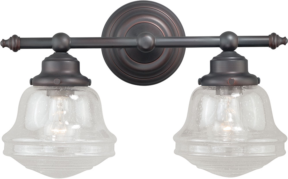 Beautiful  Light Brandy Chase Collection OilRubbed Bronze Bathroom Vanity Light