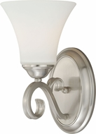 Vaxcel W0194 Belleville Satin Nickel Wall Lamp