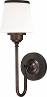 Vaxcel W0203 Kelsy Noble Bronze Lighting Sconce
