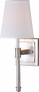 Vaxcel W0247 Ritz Satin Nickel Wall Sconce Lighting