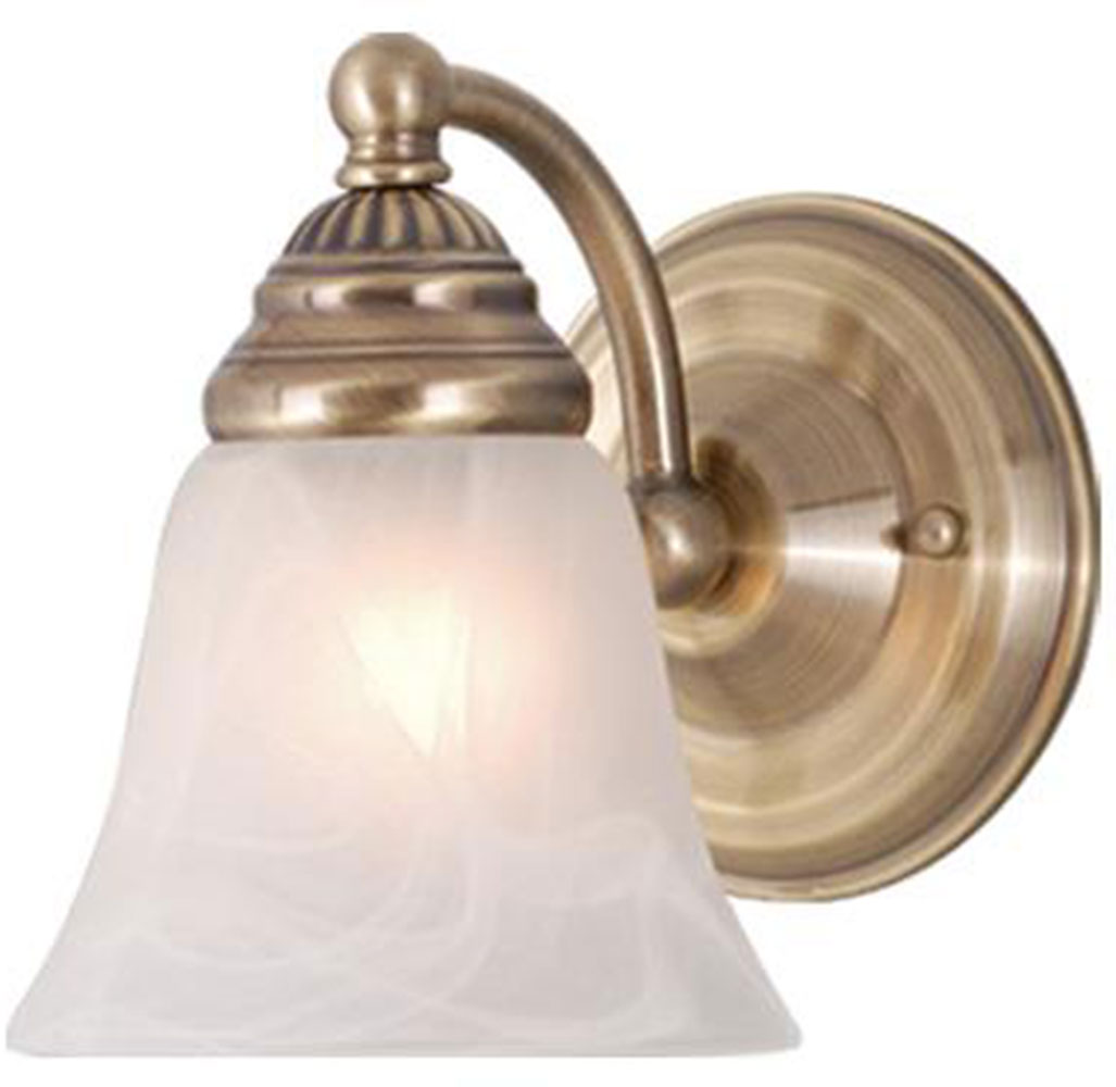 Vaxcel Wl35121a Standford Antique Brass Wall Sconce Vxl