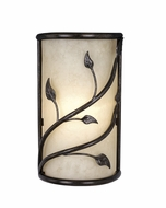 Vaxcel WS38865OL Vine Oil Shale Finish 15  Tall Exterior Lighting Sconce