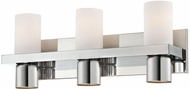 World Imports 23278-YOWC Pillar Chrome 3-Light Bathroom Lighting