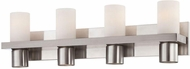 World Imports 23279-YOWB Pillar Satin Nickel 4-Light Bath Lighting