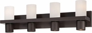World Imports 23279-YOWO Pillar Oil Rubbed Bronze 4-Light Bathroom Lighting Fixture