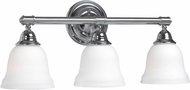 World Imports 343308 Ava Chrome Bathroom Light
