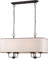 World Imports 345529 Colonial Euro Bronze Kitchen Island Light