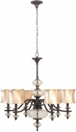 World Imports 854656 Chambord Weathered Copper Mini Lighting Chandelier