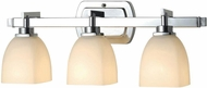 World Imports 858308 Galway Chrome 3-Light Bathroom Light Sconce
