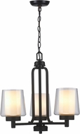 World Imports ES0005OB4 Renee II Oil Rubbed Bronze Mini Ceiling Chandelier
