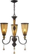World Imports ES6287OB4 Amber Marie Oil Rubbed Bronze Mini Chandelier Lamp