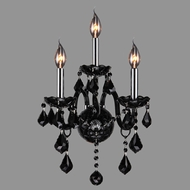 Worldwide W23103C13-BL Provence Polished Chrome Finish 8.5  Wide Light Sconce