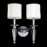 Worldwide W23132C13 Gatsby Polished Chrome Finish 16  Tall Lighting Wall Sconce