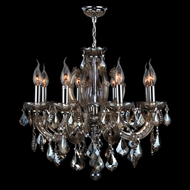 Worldwide W83121C20-GT Catherine Polished Chrome Finish 20  Tall Mini Chandelier Lamp