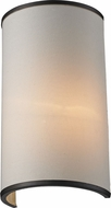 Z-Lite 165-1S Cameo Cr�me/Bronze 11.63  Tall Wall Lighting