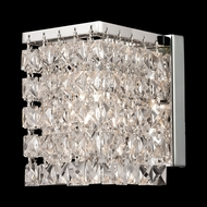Z-Lite 184-1S Waltz Crystal Chrome 4.75  Wide Halogen Lamp Sconce
