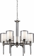 Z-Lite 1908-6 Argenta Chrome 24.5  Tall Mini Chandelier Lighting