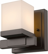 Z-Lite 1913-1S-BRZ-LED Cadiz Bronze LED Light Sconce