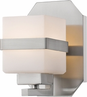 Z-Lite 1915-1S-BN-LED Ascend Contemporary Brushed Nickel LED Wall Sconce
