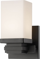 Z-Lite 1916-1S-BRZ-LED Avige Chrome LED Sconce Lighting