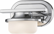 Z-Lite 1917-1S-CH-LED Optum Contemporary Bronze LED Wall Sconce Lighting