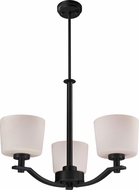 Z-Lite 220-3 Arlington Bronze 26  Wide Mini Chandelier Light