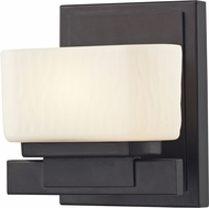 Z-Lite 3021-1V-LED Gaia Bronze LED Wall Sconce Light