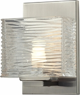 Z-Lite 3024-1V-LED Jaol Brushed Nickel LED Wall Lighting