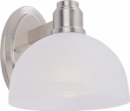 Z-Lite 314-1S-BN Chelsey Brushed Nickel 7.75 Tall Wall Light Sconce