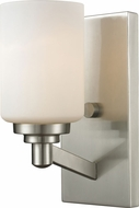 Z-Lite 410-1S Montego Brushed Nickel 9.25 Tall Wall Lamp