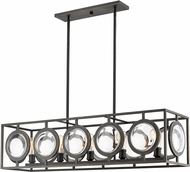 Z-Lite 448-44OB Port Contemporary Olde Bronze Kitchen Island Lighting