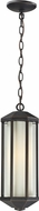 Z-Lite 526CH-ORB Cylex Oil Rubbed Bronze 16.8  Tall Outdoor Hanging Lamp