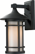 Z-Lite 527M-BK Woodland Black 14.625  Tall Outdoor Lighting Wall Sconce