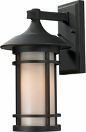 Z-Lite 528M-ORB Woodland Oil Rubbed Bronze 8.125  Wide Exterior Wall Mounted Lamp