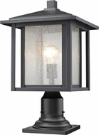 Z-Lite 554PHB-533PM-BK Aspen Black Outdoor Post Mount Fixture