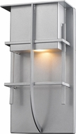 Z-Lite 558B-SL-LED Stillwater Contemporary Silver LED Exterior Wall Lighting