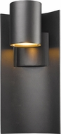 Z-Lite 559M-BK-LED Amador Contemporary Black LED Exterior Wall Mounted Lamp