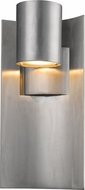 Z-Lite 559M-SL-LED Amador Contemporary Silver LED Exterior Wall Lighting Fixture