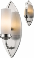 Z-Lite 6003-1S Jaula Brushed Nickel Wall Lamp