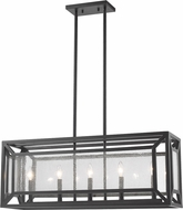 Z-Lite 6005-33BRZ Braum Contemporary Bronze Kitchen Island Light