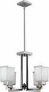 Z-Lite 602-4 Affinia Contemporary Chrome Mini Lighting Chandelier