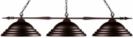 Z-Lite 88103BRZ-SBRZ Aztec Bronze Kitchen Island Light Fixture