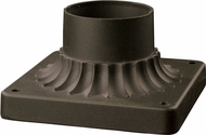 Z-Lite PM-ORB Pier Mounts Oil Rubbed Bronze Outdoor Pier Mount