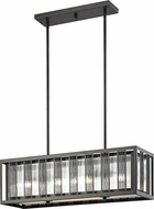 Z-Lite Z32-58IS Meridional Modern Bronze Island Lighting