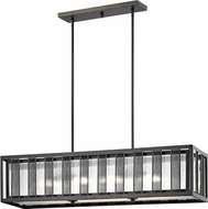 Z-Lite Z42-58IS Meridional Contemporary Bronze Kitchen Island Lighting