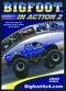 BIGFOOT MONSTER TRUCKS  IN ACTION DVD  Vol. 2 -Just $4.95!