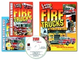 LOTS and LOTS of FIRE TRUCKS 2 DVD SET and BOOK - EXCLUSIVE OFFER!
