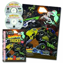 LOTS and LOTS of MONSTER TRUCKS  2 DVD SET Plus FREE Poster - As Seen On TV - Offer Not In Stores!