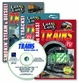 LOTS and LOTS of TRAINS 3 DVD Plus FREE Audio CD -  As Seen On TV! - Offer Not In Stores!